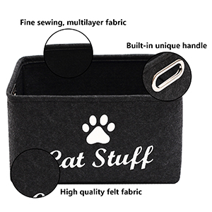 storage container dog food cat organization and storage cat toy box dog toy box