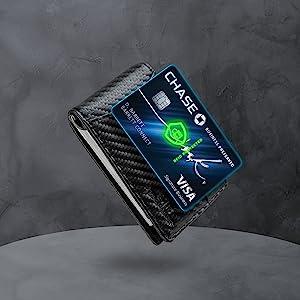 money clip wallets for men, card holder wallet, front pocket wallets for men, credit card holder