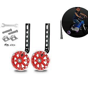 Training Wheels,Bicycle Auxiliary Wheel, Suitable for Children's Bicycle Training Auxiliary Wheel