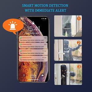 Motion Detection Alerts Notification