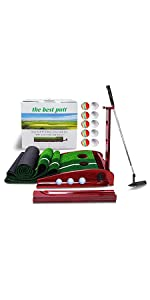Solid Wood Golf Putting Green Kits