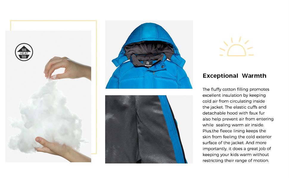 Wantdo Boy's Winter Coat