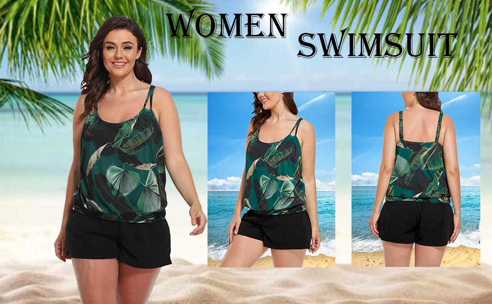FULLFITALL Plus Size Bathing Suits