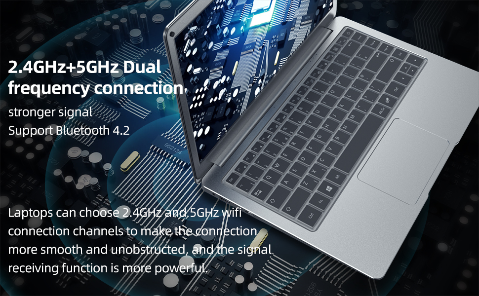 dual frequency connection laptop