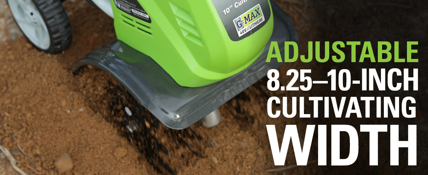 8.25-10-Inch Cultivating Width