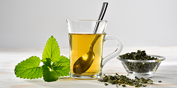 dried mint loose leaf tea