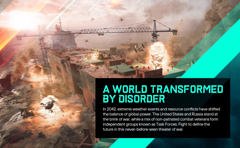 A world transformed by disorder