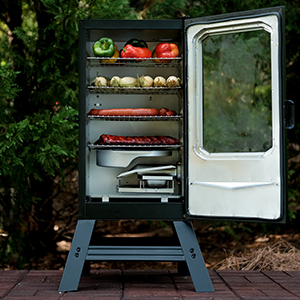 Masterbuilt Electric Smoker with window and legs
