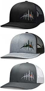 LARIX Wild Sunrise Trucker Hat