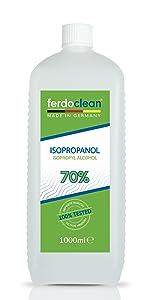 ferdoclean isopropanol 70%