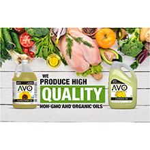 AVO, Vegetable Oils, NON GMO Oils, Cooking Oils, Organic Oils