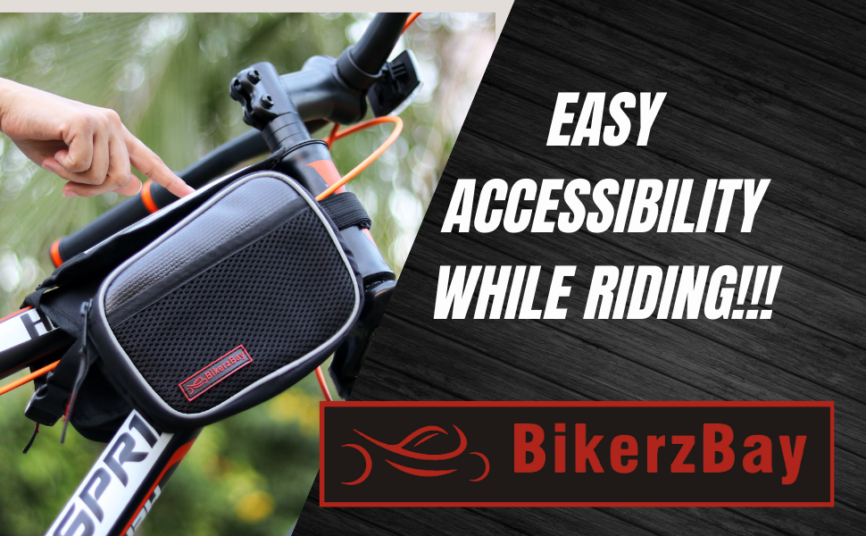 cycle bicycle saddle frame mobile phone bag bags accessories pouch waterproof for holder all