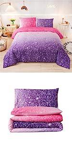 glitter bedding set