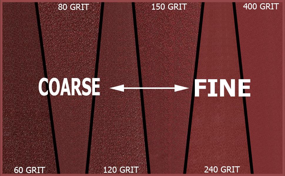 Lizmof sanding belt Grit