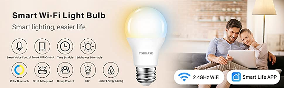 smart wifi light bulbs