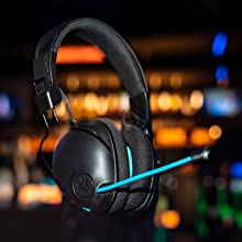 JLab Play Pro Gaming Headset With Retractable Mic