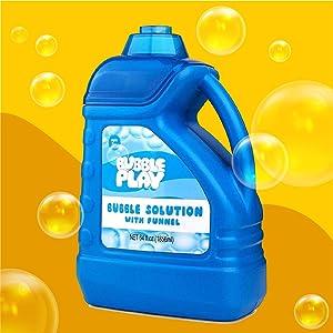 Bubble refill solution bubble wands