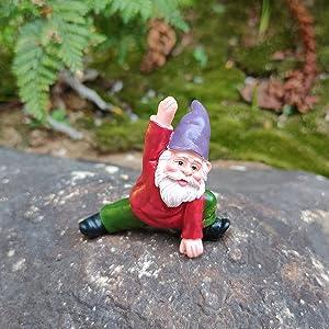 Fairy Garden Yoga Gnomes