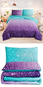 stars ombre bedding