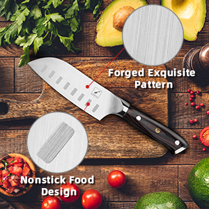 santoku knife 5 inch