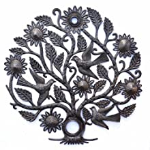Tree of Life with Birds and Flowers