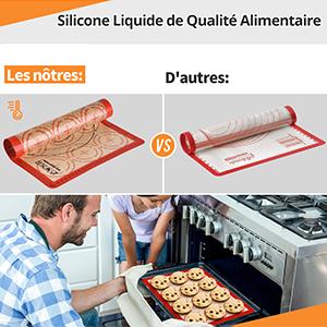 feuille de cuisson reutilisable