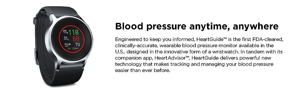 Blood pressure anytime, anywhere