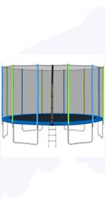 WISHWILL 16 FT Trampoline