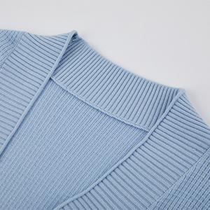 Cardigan collar detail