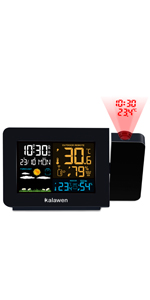 Projection Alarm Clock for Bedrooms