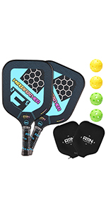 A11N HyperFeather Pickleball Paddles Set of 2