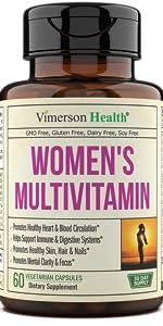 Women's Daily Multivitamin Supplement