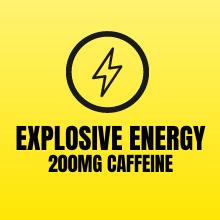 Explosive Energy - 200mg Caffeine