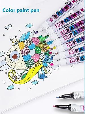 Color paint pen