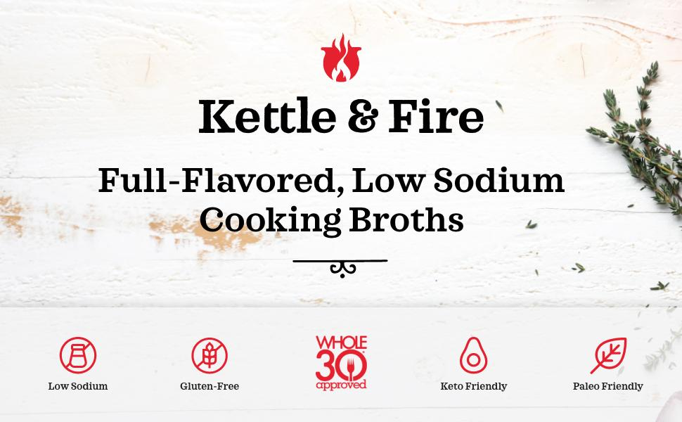 kettle and fire cooking broth stock