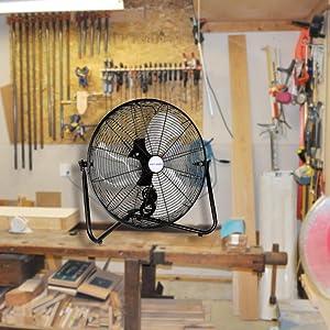 20 in. High Velocity fan