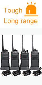 Retevis H-777S walkie talkie 4 pack