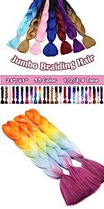 Jumbo Braiding Hair