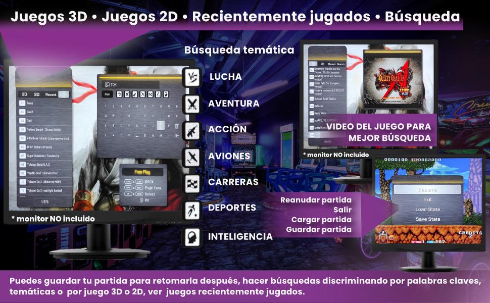 pandora box 3d, pandora box joysticks independientes, pandora box 8000 juegos, pandora box 9d