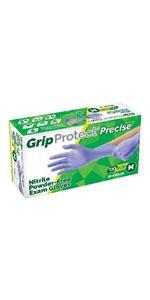 GripProtect Precise Nitrile Exam Icon