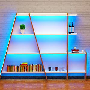decorative light for bookshelf