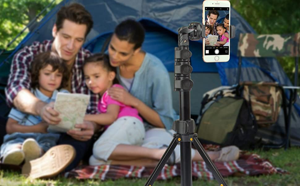 Phone Selfie Stick with Bluetooth Remote