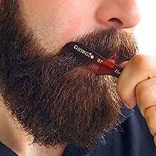 Mustache Brush through Beard