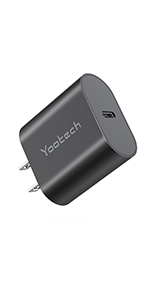 USB C CHARGER BLACK