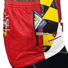 Secure Zippered Back Pocket
