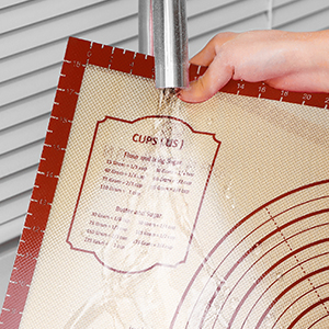 easy to cleaning baking mat