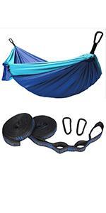 nylon lightweight hammock portable