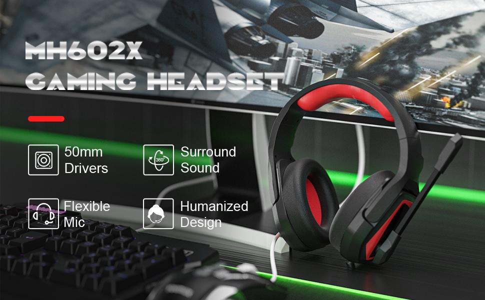 MH602X headset