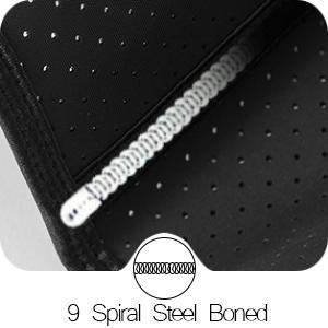 9 Spiral Steel Boned