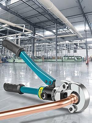 hydraulic pipe crimper